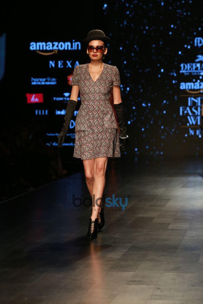 Designer Adarsh Gill At Amazon India Fashion Week In New Delhi