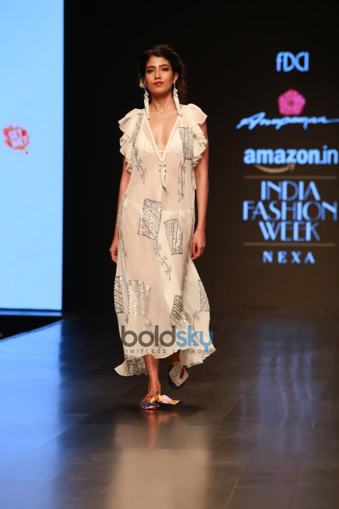 Designer Anupama Dayal Collection At Amazon India Fashion Week In New Delhi