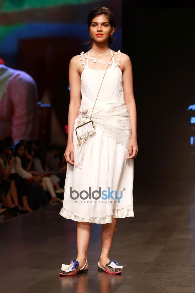 Designer Anupama Dayal Collection At Amazon India Fashion Week In New Delhi