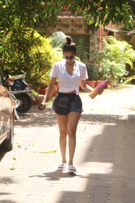 Malaika Arora Khan In Gym Outfit