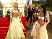 Sherlyn Chopra Goes Desi At Cannes 2013